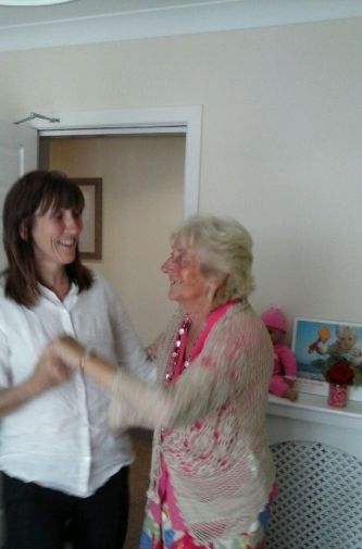 Mum loved dancing